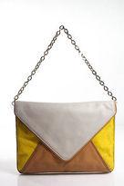 Banana Republic Multi-Color Leather Calf Hair Small Shoulder Handbag