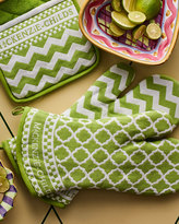 Mackenzie Childs MacKenzie-Childs Key Lime Oven Mitts, Set of 2