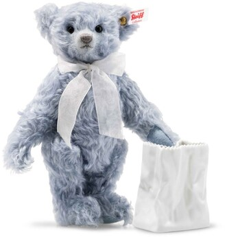 Steiff Lily Teddy Bear and Vase (24cm)