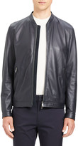 Theory Men's Morrison Benji Perforated Leather Bomber Jacket