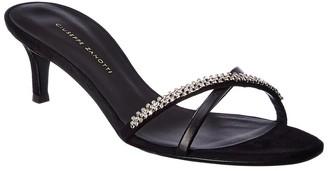 Giuseppe Zanotti Leather & Suede Sandal