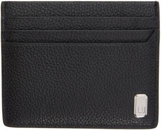 Dunhill Black Leather Belgrave Card Holder