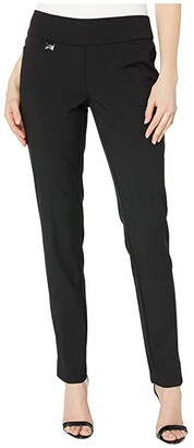 Lisette L Montreal Gaby Stretch Slim Pants (Black) Women's Casual Pants