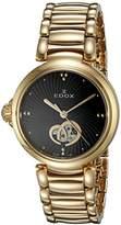 Edox Women's 85025 37RM NIR LaPassion Analog Display Swiss Automatic Rose Gold-Tone Watch