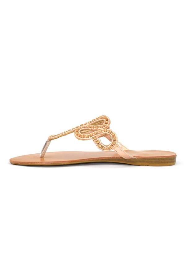Bamboo Slither Rhinestone Sandal
