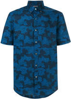 MICHAEL Michael Kors camouflage-print button-down shirt