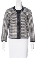 Tory Burch Knit Patterned Cardigan