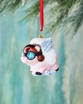 Christopher Radko Pigs are Flying Christmas Ornament