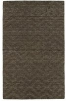 Kaleen Rugs Imprints Modern Hand-Tufted Area Rug, Chocolate/Light Brown, 2' x 3'