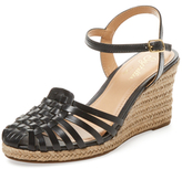 Seychelles Aspiration Woven Leather Wedge