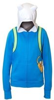 Mighty Fine Adventure Time Junior's Jake Face Pocket Hoodie