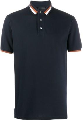 Emporio Armani Logo Collar Polo Shirt