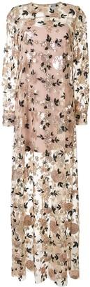 macgraw Soiree sequin maxi dress