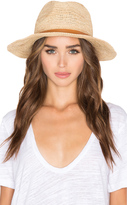 Hat Attack Raffia Crochet Medium Brim Hat