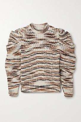Ulla Johnson Daphne Striped Alpaca-blend Sweater - Ecru