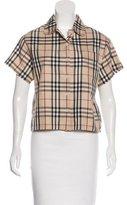 Burberry Nova Check Pajama Top