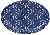 Southern Living Moroccan Quatrefoil Melamine Oval Platter