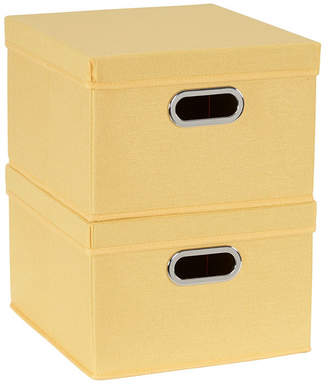 Household Essentials 2-Pc. Sunburst Storage Box Set