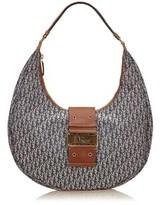 Christian Dior Pre-owned: Jacquard Shoulder Bag.