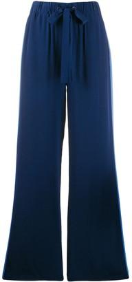 Dvf Diane Von Furstenberg Ellington crepe de chine trousers