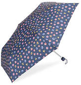 Fulton Floral-Printed Folding Umbrella