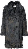 MM6 MAISON MARGIELA oversized faux fur