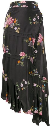 Preen Line Kalifa floral print skirt
