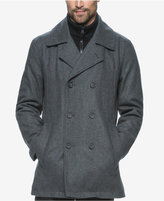 Andrew Marc Men's Big & Tall Cheshire Bibby Peacoat