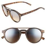 Marc Jacobs Women's 99Mm Shield Sunglasses - Dark Grey
