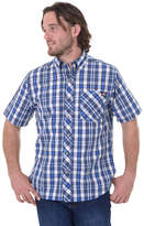 Dickies Men's Relaxed-Fit Plaid Button-Down Shirt