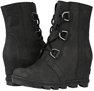 Sorel Joan of Arctic Wedge II (Black) Women's Waterproof Boots