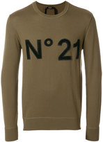No.21 logo patch jumper