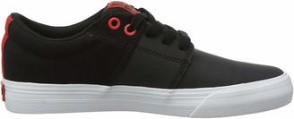 Supra Unisex Adults Stacks Ii Vulc Skateboarding Shoes (Black/Risk RED-White-M 35) 4.5 UK