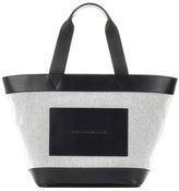 Alexander Wang Leather And Canvas Tote Bag