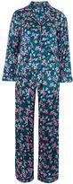 Topshop Satin Bird Print Pyjama Set