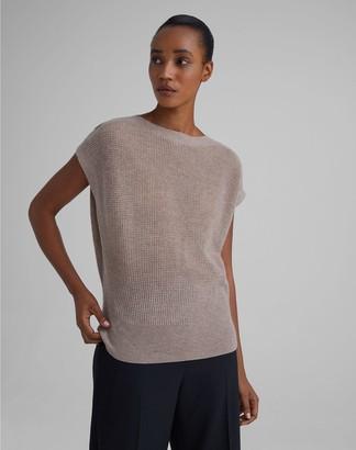 Club Monaco Cashmere Waffle Knit Sweater