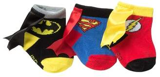 Justice HAPPY THREADS Caped League Booties - Pack of 3