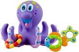 Nuby Octopus Floating Bath Toy-Purple