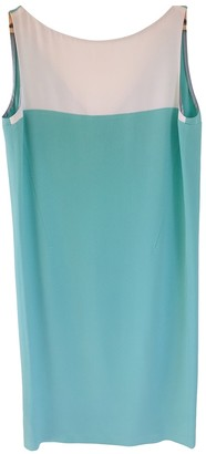 CNC Costume National Turquoise Silk Dress for Women