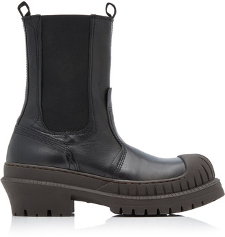 Acne Studios Bryant Lug-Sole Leather Chelsea Boots