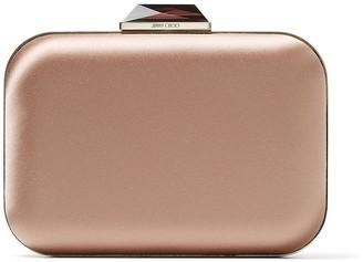 Jimmy Choo Cloud textured box clutch bag