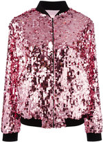 Giamba sequin embellished bomber jacket