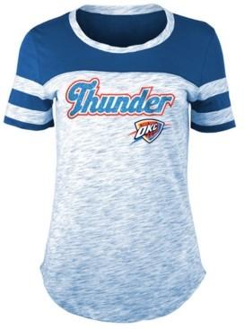 5th & Ocean Women's Oklahoma City Thunder Space Dye T-Shirt
