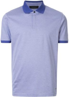 Durban D'urban classic striped polo shirt