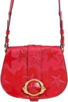 Roberto Cavalli Ayers & Leather Bag W/ Star Patches