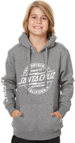 Santa Cruz Kids Boys Bolt Strip Pop Hoodie Grey