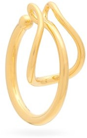Charlotte Chesnais Needle Gold-vermeil Ear Cuff - Gold