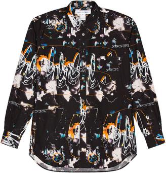 Comme des Garçons Shirt Futura Print Shirt in Print A | FWRD