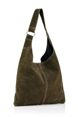 Hill & How Women's Sling Leather Shoulder Bag