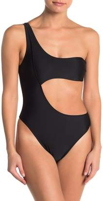 KENDALL + KYLIE One-Shoulder One-Piece Swimsuit